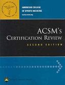 二手書 ACSM s Certification Review: ACSM Certified Personal Trainer, ACSM Health/fitness Instructor, A R2Y 0781745926