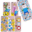 Adventure time 探險活寶 iPhone 6/6s 可愛透明彩繪保護軟套-趣味系列