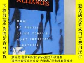 二手書博民逛書店Intelligent罕見Business Alliances: