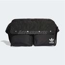 adidas 腰包 Funny Bum Bag Large 黑 白 男女款 大容量 背包 三葉草 側背包【PUMP306】 DV0210