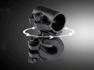 【JIS】B050 槍型燈夾 360度旋轉 自行車燈夾 車燈架 強光手電筒 夾子 旋轉燈架 旋轉燈夾 車架