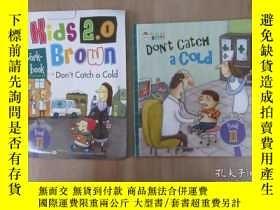 二手書博民逛書店布朗兒童英語罕見DON T CATCH A COID(level 3, book 11) 附練習冊, 精裝Y1