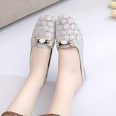 軟底包頭半拖鞋女外穿懶人拖鞋2021夏季新款女鞋百搭網紗涼拖鞋潮
