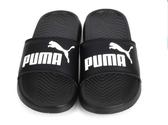 PUMA 男女款黑色涼拖鞋-NO.36026510