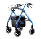 『福利品出清』康而富時尚輔具 CT-500 鋁合金 四輪助行器 輕量化7.6KG , 助步器 銀髮族運動好幫手