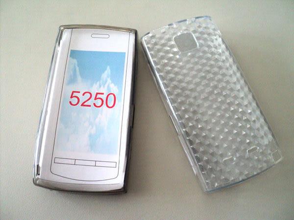 ✔NOKIA 5250 矽膠清水套/金剛套/保護套/手機套