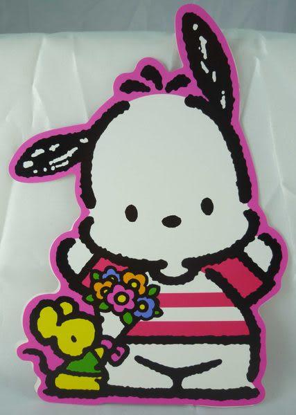 【震撼精品百貨】Pochacco 帕帢狗~造型卡片『老鼠』