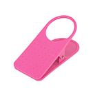 創意小物~防打翻大夾子造型桌邊水杯夾、杯架 (粉紅色2入)免運費
