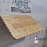 壁掛餐桌 壁掛折疊桌餐桌連壁桌實木桌掛牆桌電腦桌連牆上桌筆記書桌靠牆桌T