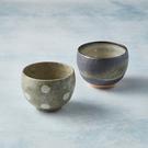 日本美濃燒 - 手感和風茶杯 - 對杯組(2件式)