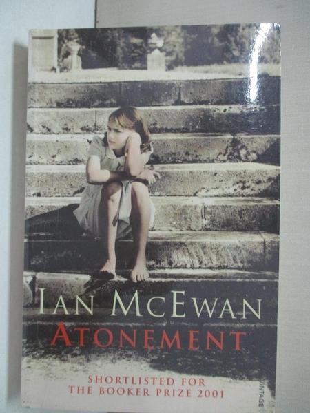【書寶二手書T1/原文小說_GZ5】Atonement_Ian McEwan.