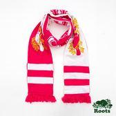 Roots-男配件- 周年紀念海狸長條圍巾 - 紅色