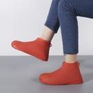 硅膠鞋套防水下雨天防滑腳套男女加厚耐磨雨鞋套兒童雨靴防雨神器【八折搶購】