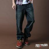 Big Train 湛藍街頭垮褲-男-迷-中藍-BM611177