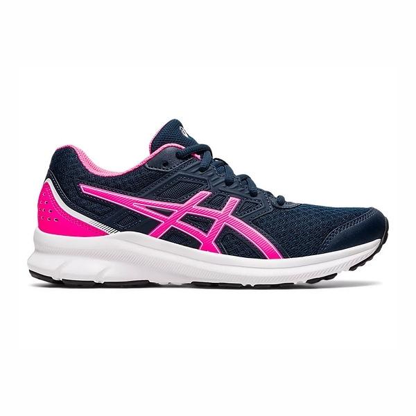 Asics Jolt [1012A909-400] 女鞋 運動 休閒 慢跑 舒適 貼合 柔軟 亞瑟士 深藍 桃紅