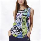挖袖數位印花罩衫TA623(商品圖不含內...