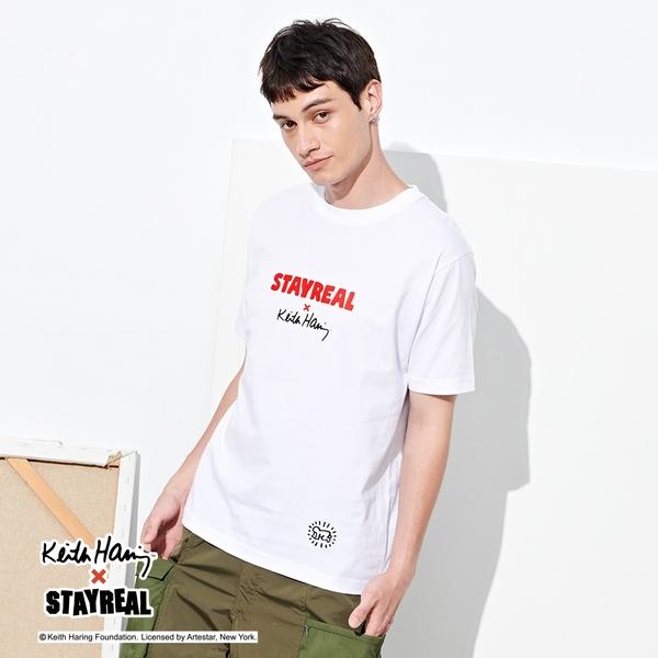 STAYREAL x Keith Haring 凱斯哈林聯名Logo T
