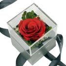 永生花玫瑰三層首飾盒 花朵可依玫瑰色卡挑選設計 尺寸8*8*11