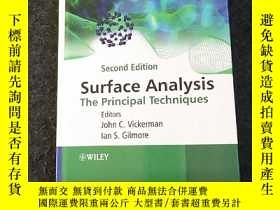 二手書博民逛書店Surface罕見Analysis The Principal Techniques (Second Editio