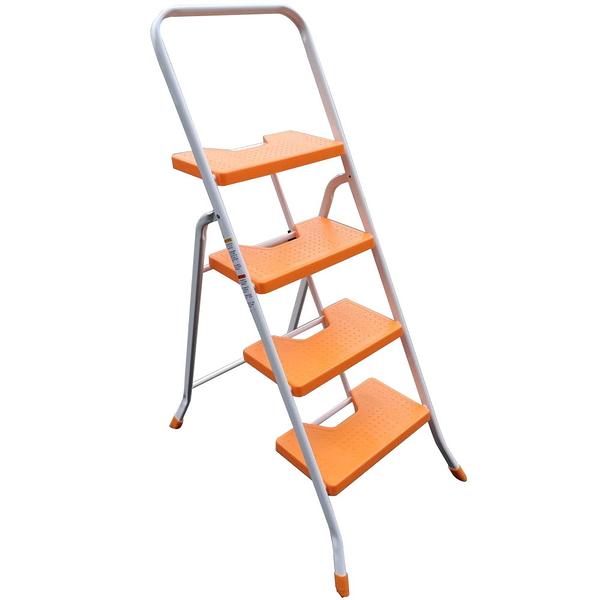 祥江鋁梯-(鐵製)扶手梯4階
