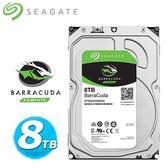 全新 Seagate【BarraCuda】新梭魚 8TB 3.5吋桌上型硬碟 (ST8000DM004)