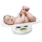 【義大利LAICA】 嬰兒身體/體重秤BF20510白色