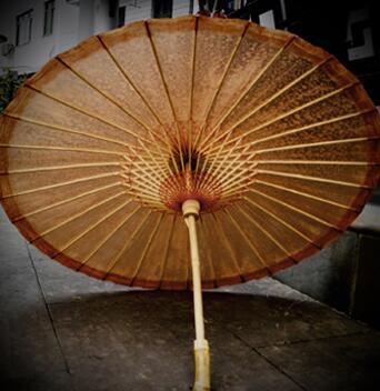 女古風油紙傘純手工