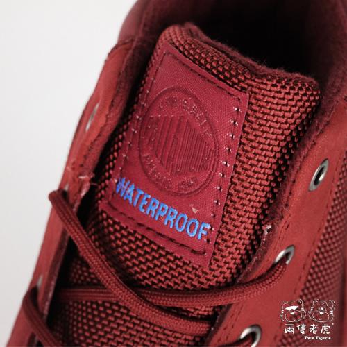 法國 Palladium Waterproof 紅色 防水短靴 中童靴 NO.R2220