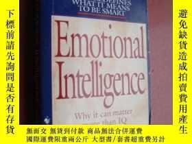 二手書博民逛書店Emotional罕見intelligence:why it c
