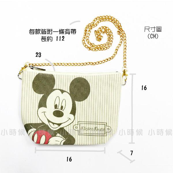 ☆小時候創意屋☆ 迪士尼 正版授權 維尼 淡彩 彩繪 化妝包 斜背包 收納包 手機包 長夾 側背包