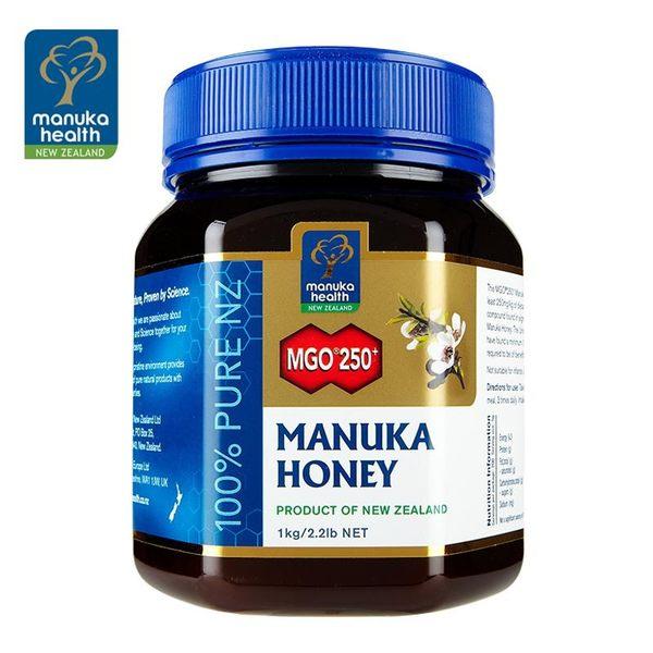 【蜜紐康manuka health】麥蘆卡蜂蜜MGO250+ 1000g