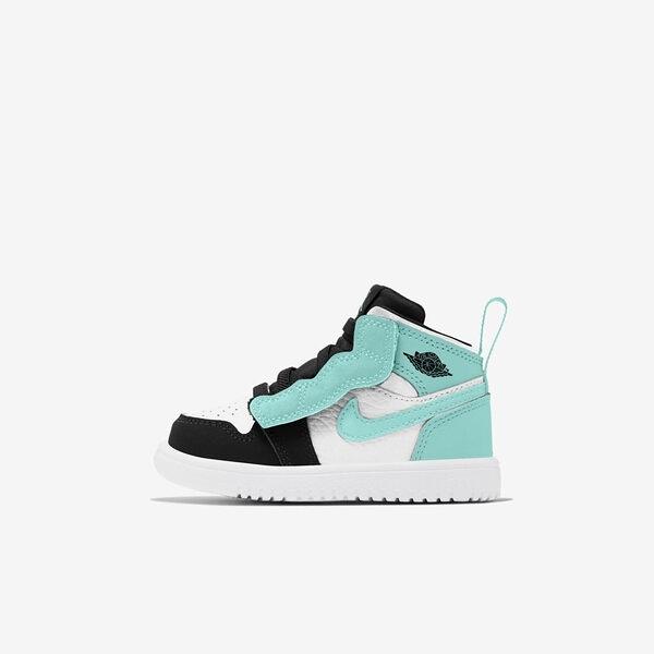 Nike Jordan 1 Mid Alt Td [AR6352-132] 小童鞋 喬丹 魔鬼氈 保護 蒂芬妮綠 白