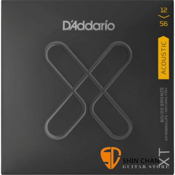美國 D'Addario XTABR1256 (1256) 民謠吉他弦 【XTABR-1256/木吉他弦專賣店/DAddario】