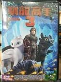 挖寶二手片-T04-487-正版DVD-動畫【馴龍高手3】-國英語發音(直購價)