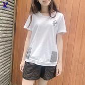 【春夏新品】American Bluedeer - 千鳥口袋T恤 二色 春夏新款