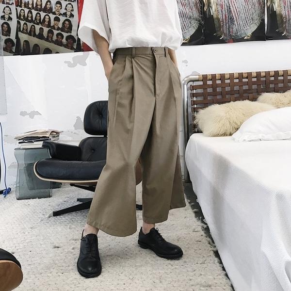 FINDSENSE H1 2018 夏季 新款 日本 男 簡約顯瘦 寬鬆 氣質