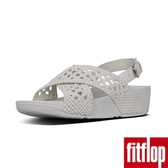 【FitFlop】LULU WICKER WEAVE BACK-STRAP SANDALS(都會白)現時回饋6折