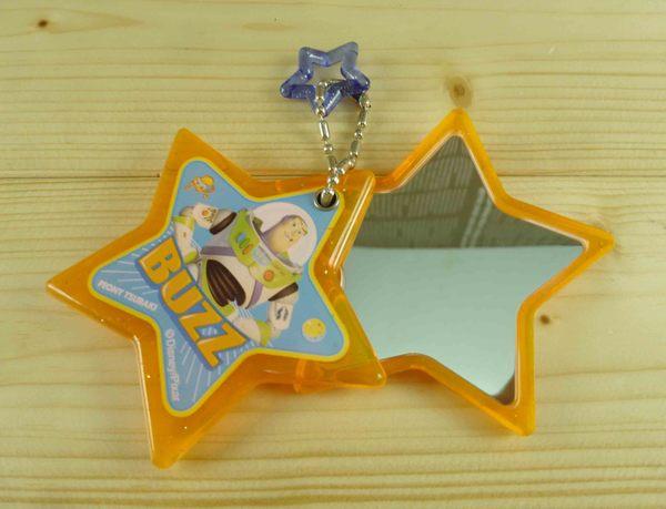 【震撼精品百貨】Metacolle 玩具總動員-鏡子附鍊-橘星星圖案