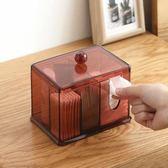 棉簽盒透明化妝棉盒【ZJK1228】 衣涵閣