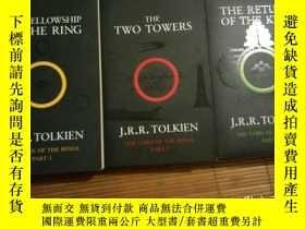 二手書博民逛書店the罕見lord of rings trilogy -the