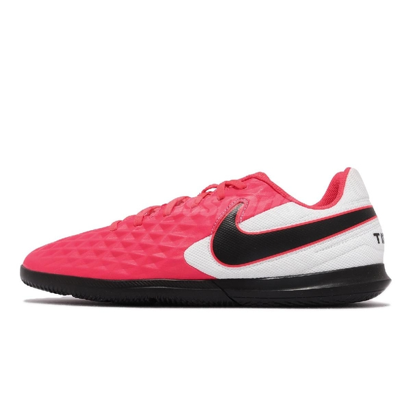 【海外限定】Nike 足球鞋 Legend 8 Club IC 紅 白 黑 球場 街道 男鞋 運動鞋【ACS】 AT6110-606