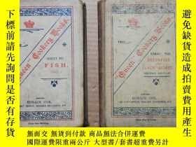 二手書博民逛書店1904年罕見烹飪書籍 精裝本《THE QUEEN COOKERY BOOKS》仔細看圖Y280247