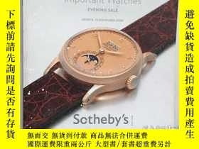 二手書博民逛書店IMPORTANT罕見WATCHES: INCLUDING PR