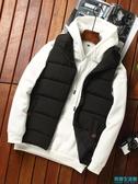 男士馬甲秋冬季韓版羽絨棉馬夾修身加厚保暖背心男款外套潮