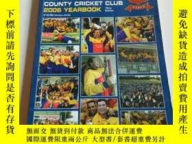 二手書博民逛書店ESSEX罕見COUNTY CRICKET CLUB 2006