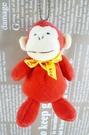 【震撼精品百貨】日本日式精品_猴子~絨毛鎖圈-紅