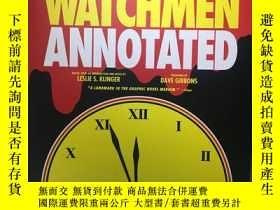 二手書博民逛書店watchmen罕見annotatedY354828 alan moore 、dave gibbons 美國