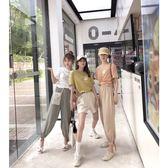 運動套裝謎秀休閒運動套裝女夏裝韓版短袖T恤上衣 寶貝計劃