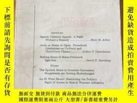 二手書博民逛書店Minnesota罕見LAW REVIEW Vol.74 No.3Y4615 University of Mi