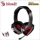 【Bloody】雙飛燕  G500 立體聲 雙用遊戲電競耳機-贈價值299 耳機展架